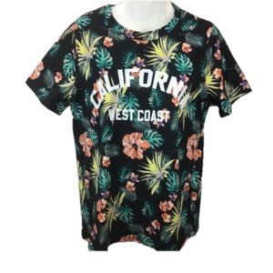 NWT Justify California Floral Blouse Top size L